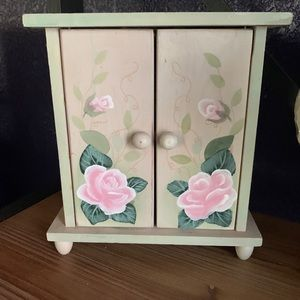 Small doll armoire